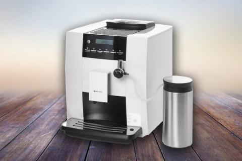 Ekspres do kawy automatyczny z pojemnikiem na mleko HENDI – Kitchen Line